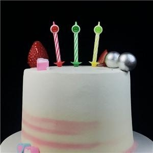 Crazy Latest Multicolor Spiral Birthday Candles Bulk With Happy Faces