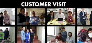 Foreign Customer Visits