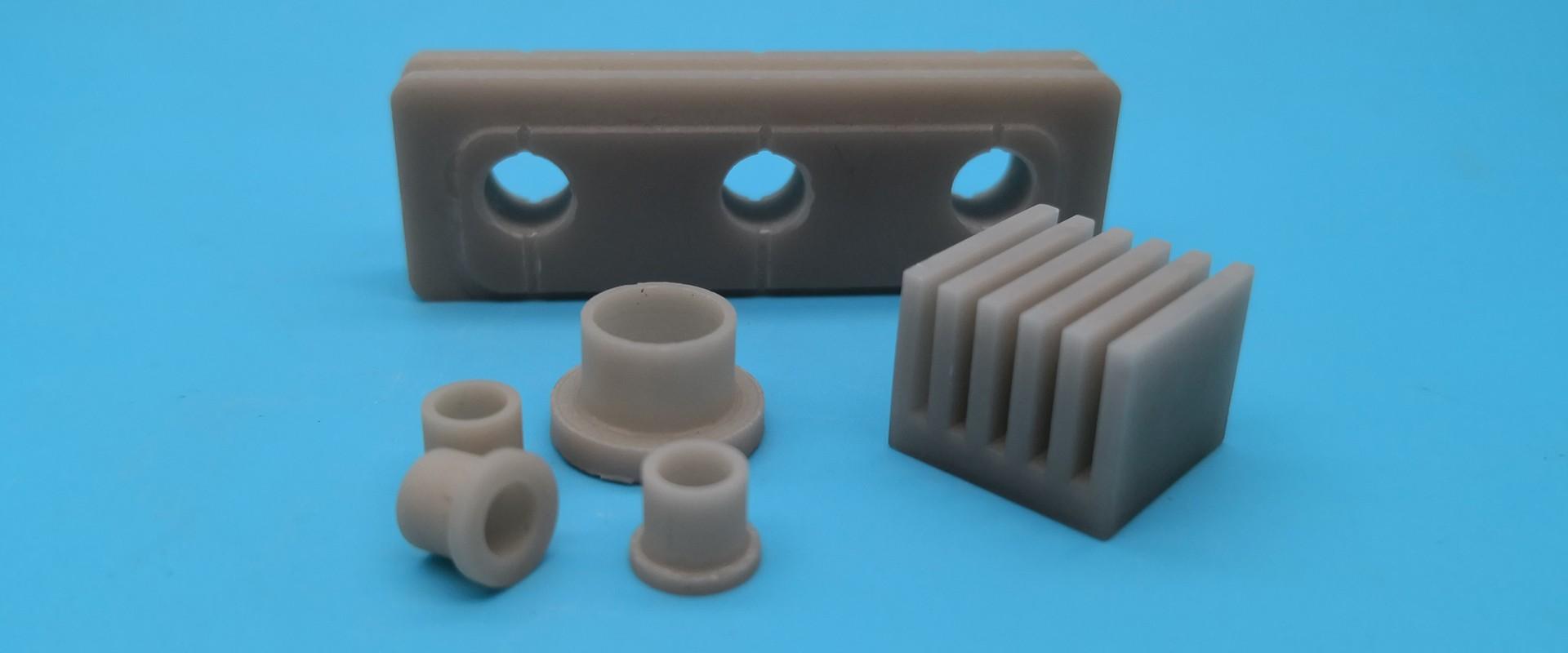 Elementy ceramiczne z azotku glinu