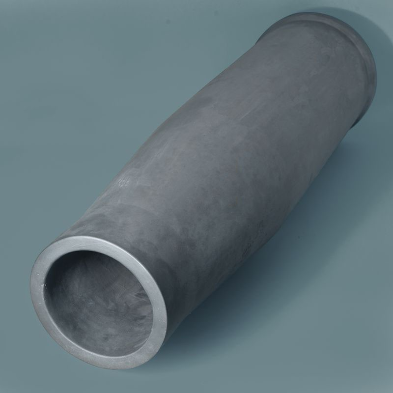 High Temperature Resistant Silicon Carbide SiC Tube Pipe