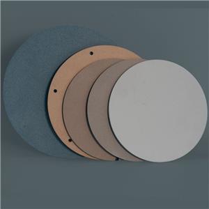 30 Mikron AL2O3 Aluminiumoxid Poröse Keramikscheiben / Filter