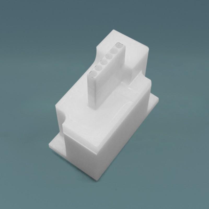 موصل سيراميك زركونيا تصميم مخصص لمكونات الألياف البصرية المتخصصة
