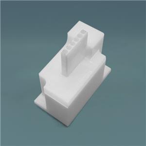Custom Design Zirconia Ceramic Connector for Specialty Fiber Optic Components