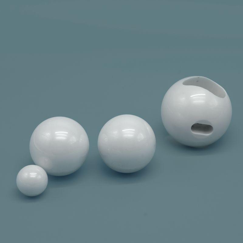 صمام مكونات زركونيا السيراميك الكرة