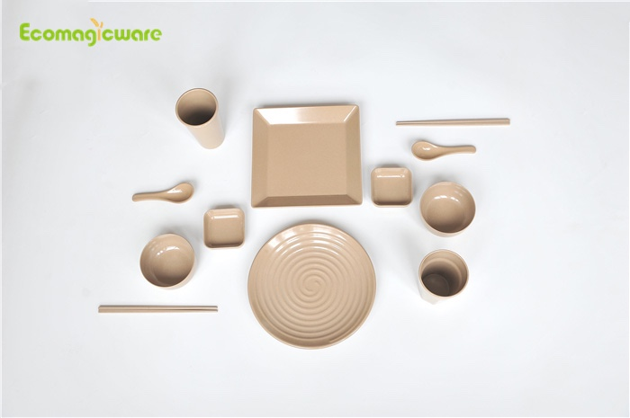 Family Rice Husk Dinnerware