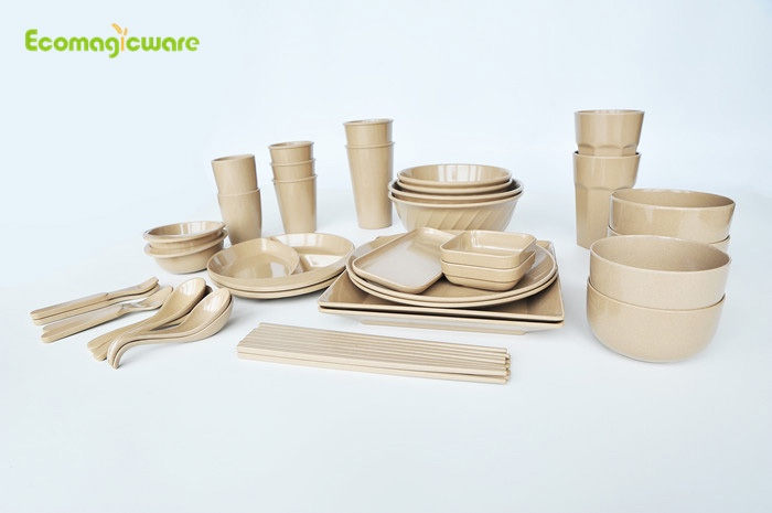 Family Rice Husk Tableware Sets Manufacturers, Family Rice Husk Tableware Sets Factory, Supply Family Rice Husk Tableware Sets