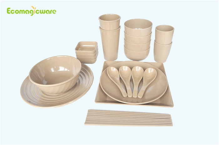 Rice Husk Dinnerware