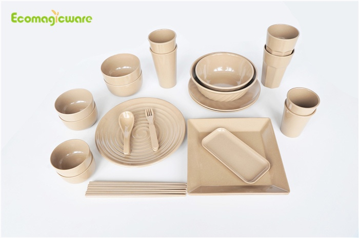 Biodegradable Rice Husk Dinnerware