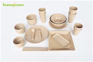 Biodegradable Rice Husk Dinnerware