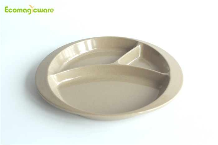 Rice Husk Lunch Tableware