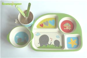 Plant Fiber Tableware Sets