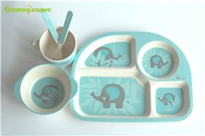 Plant Fiber Kids Dinnerware Sets