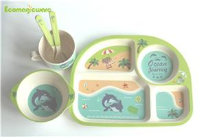 Children Plant Fiber Tableware
