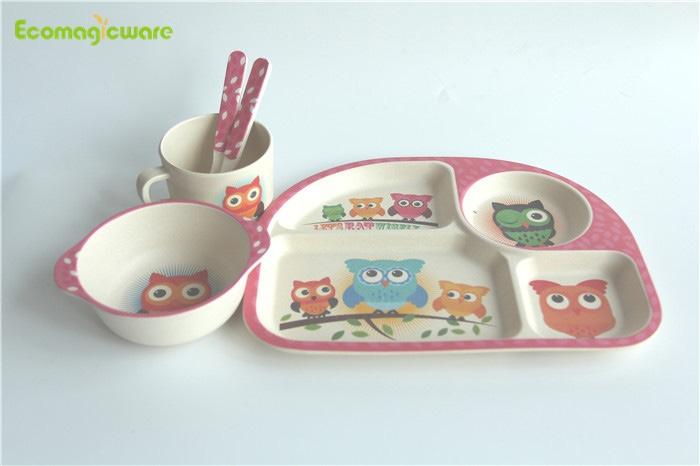 Bamboo Fiber Kids Tableware Manufacturers, Bamboo Fiber Kids Tableware Factory, Supply Bamboo Fiber Kids Tableware