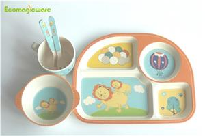 Biodegradable Plant Fiber Dinnerware Sets
