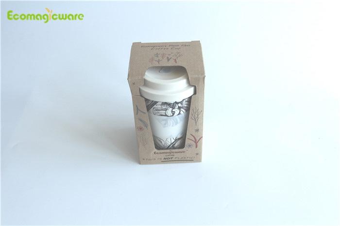 Växtfiberkaffekoppar