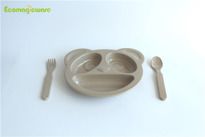 Rice Husk Kids Tableware
