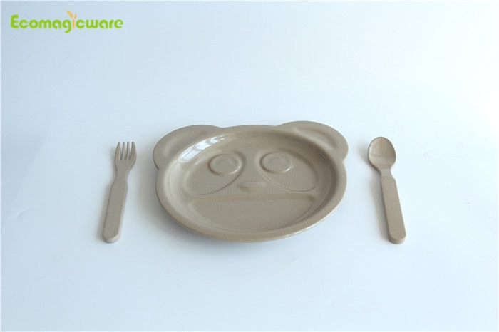 Rice Husk Children Tableware