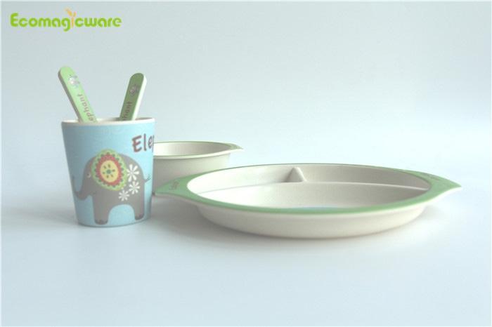 Kids Biodegradable Bamboo Fiber Tableware Manufacturers, Kids Biodegradable Bamboo Fiber Tableware Factory, Supply Kids Biodegradable Bamboo Fiber Tableware