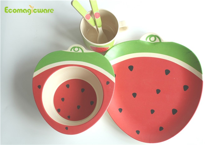 Biodegradable Kids Plant Fiber Dinnerware