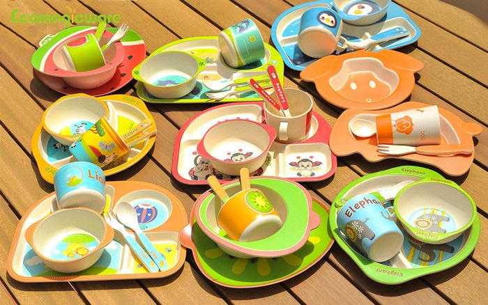 OEM Biodegradable Kids Tableware
