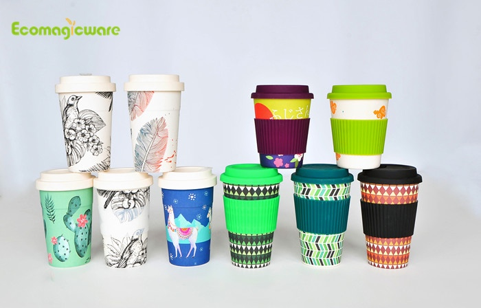 OEM biologisch afbreekbare koffiekopjes