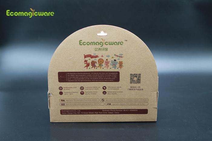 Kids biodegradable tableware