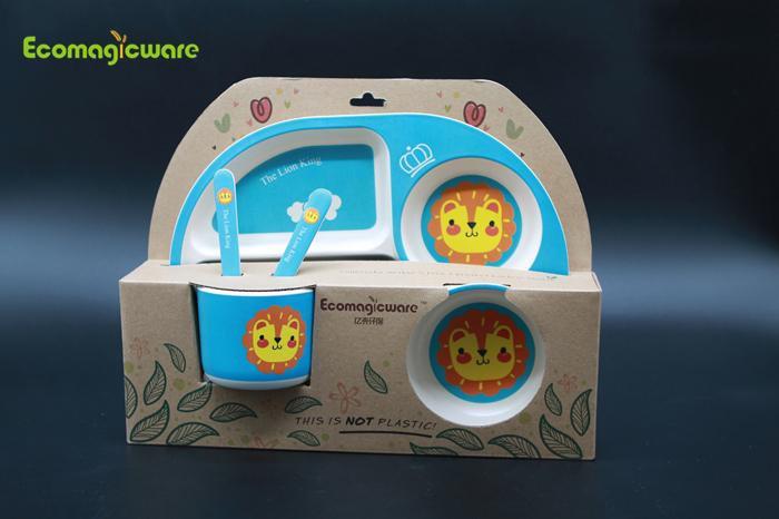 Biodegradable kids tableware