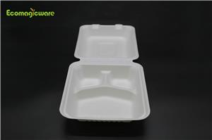 Eco Friendly Disposable Compartment Box