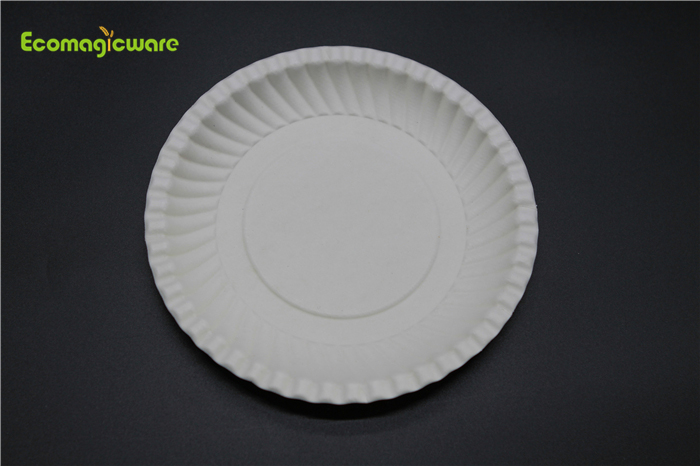 Eco Friendly Disposable 6 Inch Round Plate
