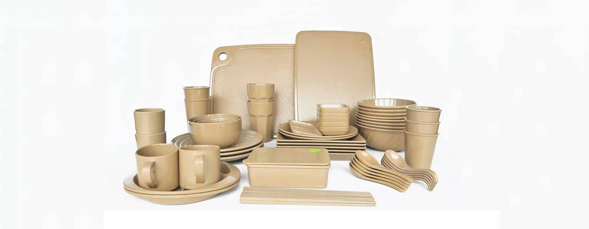 rice husks family tableware