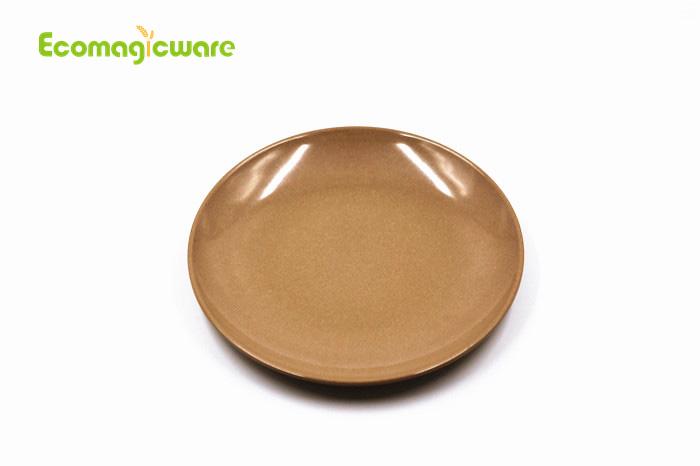 eco friendly round plate
