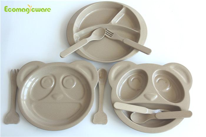 eco friendly rice husk tableware