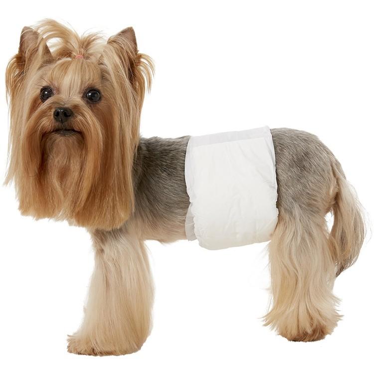 Fraldas descartáveis extra grandes para cães