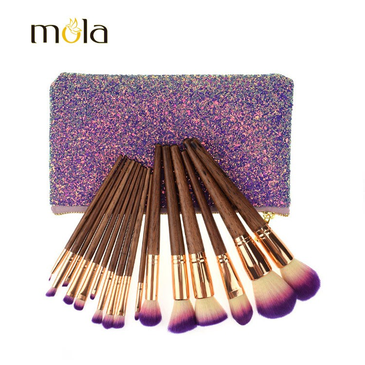 2019 Professional Glitter Makeup Brush Set