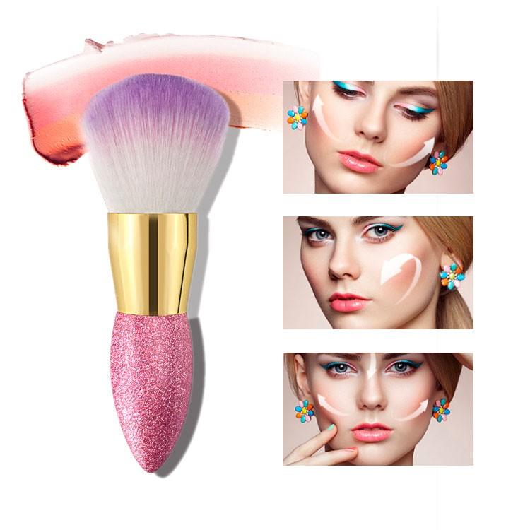 Single Brushes Makeup Crystal Handle Makeup Brush Manufacturers, Single Brushes Makeup Crystal Handle Makeup Brush Factory, Supply Single Brushes Makeup Crystal Handle Makeup Brush