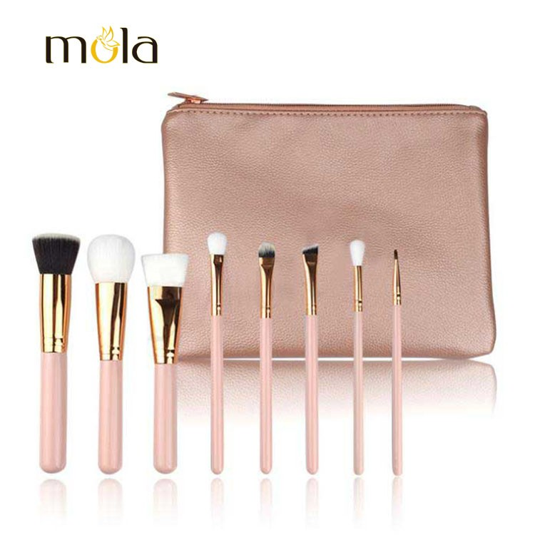 Portable Travelling Makeup Brush Set