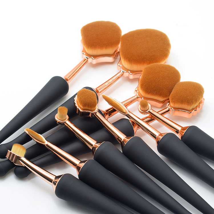 10 piece makeup brush set