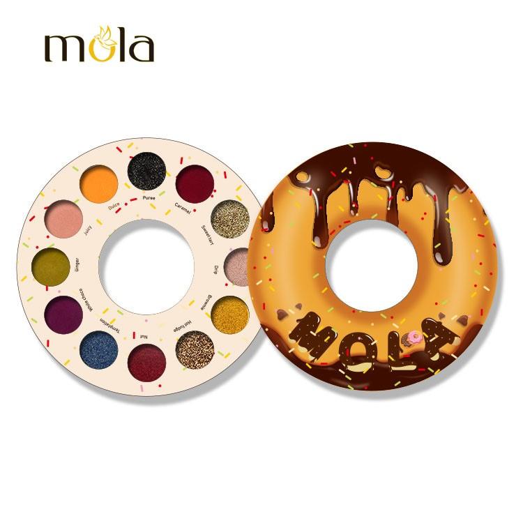 लॉन्ग लास्टिंग डायमंड डोनट्स आइशैडो पैलेट