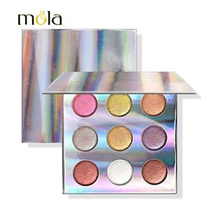 High Pigment 9 Color Baked Eyeshadow Palette