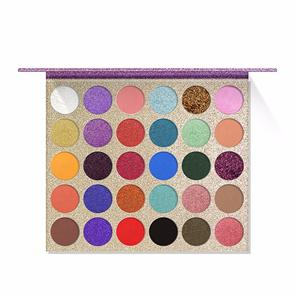 Sombra de ojos profesional de 30 colores Highpigment Private Label Makeup