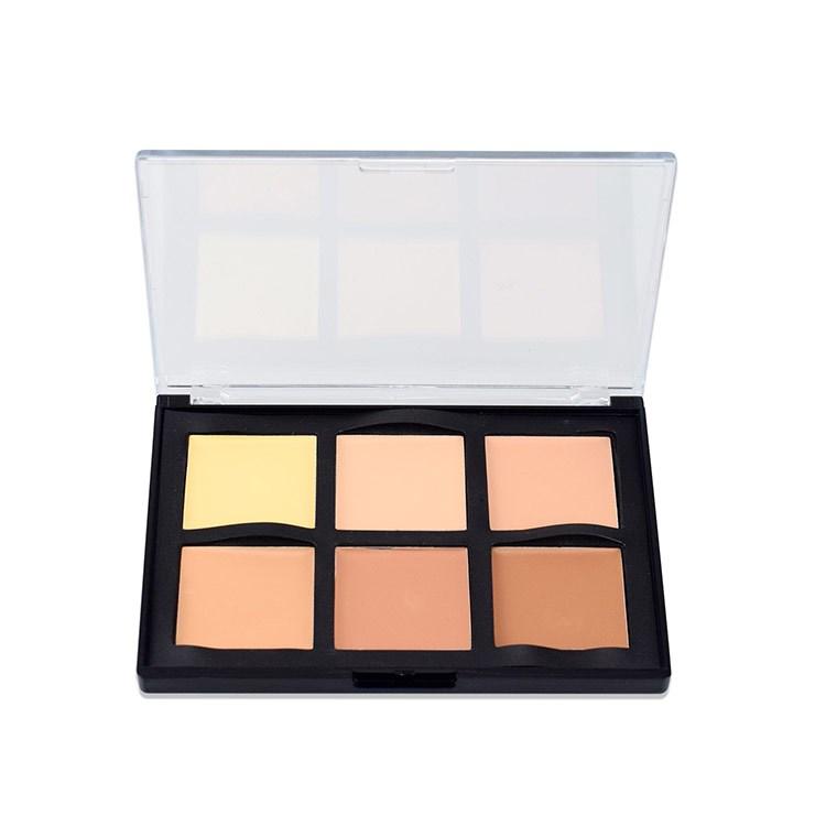 6 Color Pro Concealer Creamy Concealer Makeup