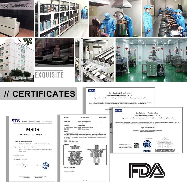 पेशेवर सौंदर्य प्रसाधन निर्माता एमएसडीएस प्रदान करते हैं, एफडीए ने मंजूरी दे दी