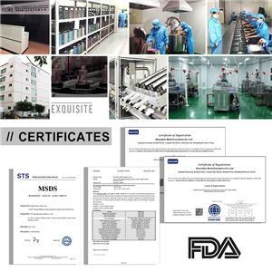 Un fabricant de cosmétiques professionnel a fourni une fiche signalétique approuvée par la FDA