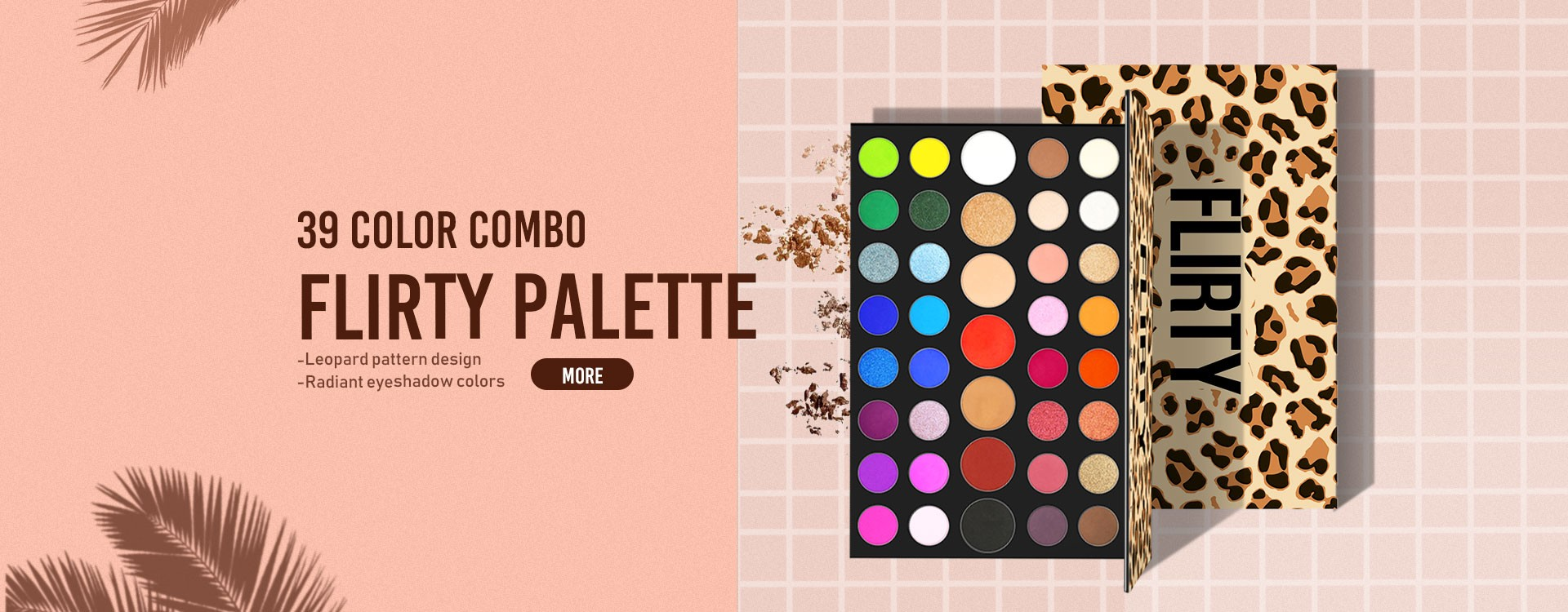 Customize your own design eyeshadow palette