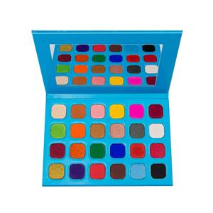 24 Color Neon Eyeshadow Palette