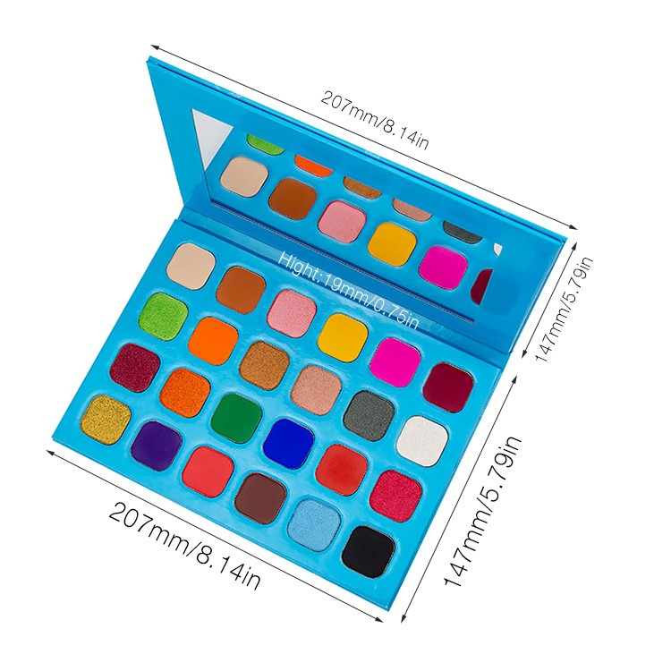 24 Color Neon Eyeshadow Palette Manufacturers, 24 Color Neon Eyeshadow Palette Factory, Supply 24 Color Neon Eyeshadow Palette