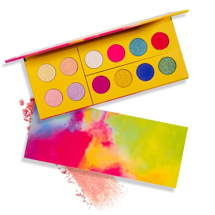 eyeshadow palette pigment