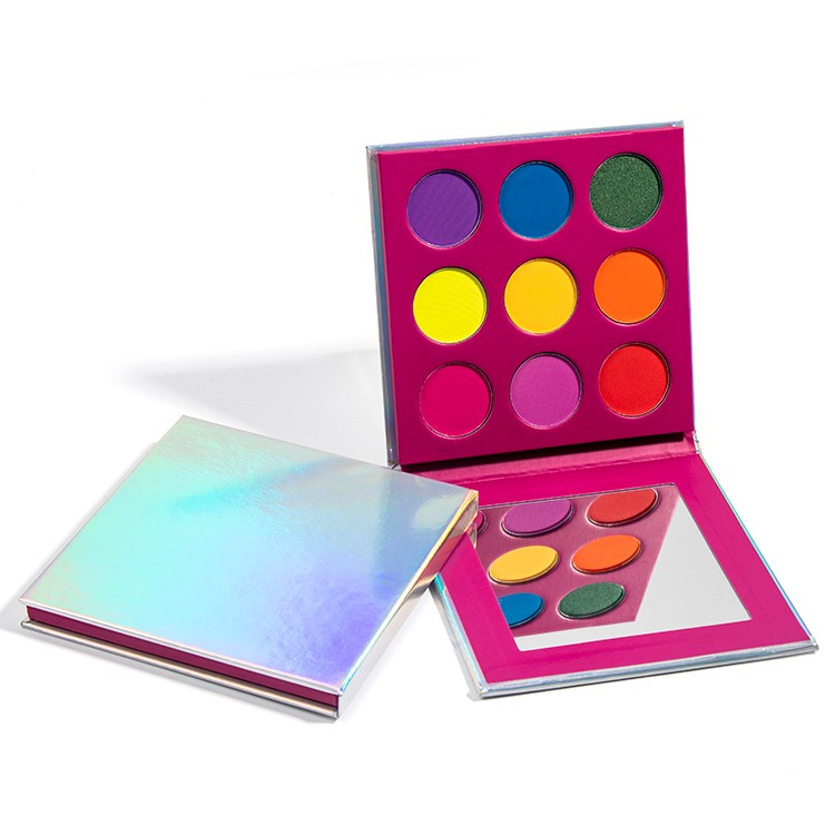 Low MOQ Holographic Pigmented Eyeshadow Palette Manufacturers, Low MOQ Holographic Pigmented Eyeshadow Palette Factory, Supply Low MOQ Holographic Pigmented Eyeshadow Palette