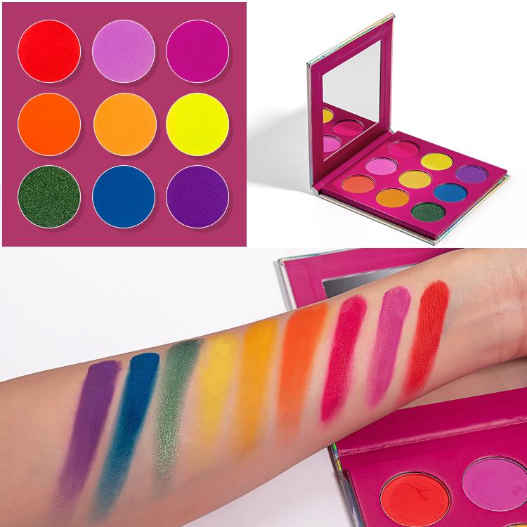 pigmented eyeshado palette